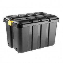 Πλαστικό κουτί - Μπαούλο ΓΙΓΑΣ με καπάκι και ρόδες 130lt - 79x52x52cm. 8035940