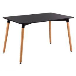 Z.E7088,2 ART τραπέζι Μαύρο MDF