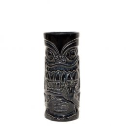 30440 Κούπα Tiki 44cl, φ7.3x17cm, μαύρη, Πορσελάνης, Ελληνικής κατασκευής