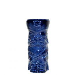 30445 Κούπα Tiki 44cl, φ7.3x17cm, μπλε, Πορσελάνης, Ελληνικής κατασκευής