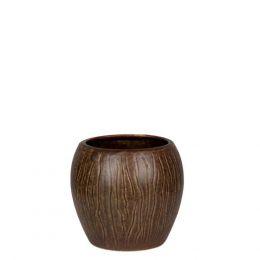 30780 Κούπα Tiki 53cl, φ11x9.5cm, καφέ, Πορσελάνης, Ελληνικής κατασκευής