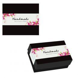30929 Κουτί ζαχαροπλαστικής μεταλιζέ Κασσετίνα Μικρή, 22,5x12x4,5cm (τιμή για 10kg)