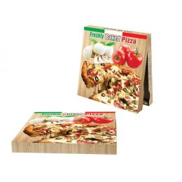 33069 Κουτί Πίτσας Μικροβέλε (Σετ 100 τμχ) FRESHLY, 30x30x4.2cm