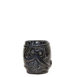 32933 Κούπα Tiki 50cl μαύρη, Πορσελάνης