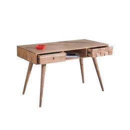 Κονσόλα-γραφείο ξύλινο σε ακακία φυσικό χρώμα Z.EA7045 TEKA
