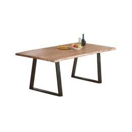 Τραπέζι με μεταλλικό σκελετό σε ξύλο ακακία φυσικό χρώμα Z.EA7097,S LIZARD