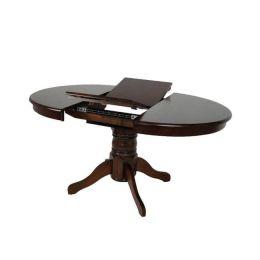Z.E7680,2 NIRVANA τραπέζι καρυδί 106(+30)x75cm