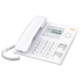 01.011 Alcatel T56 Ενσύρματο σταθερό τηλέφωνο Λευκό 010006