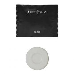 Σαπούνι στρογγυλό, 20gr, Συσκ 500 τεμ. σε πλαστική συσκευασία Lemon Grass. Artisti Italiani B111