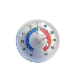 Θερμόμετρο ψυγείου, -50° έως 50°C, διαβάθμιση 1°C, στρογγυλό φ7cm, Alla France. 71700-001-sa