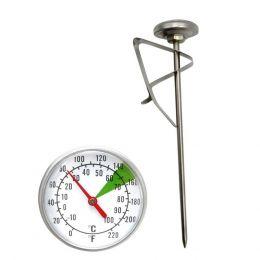 Θερμόμετρο αφρόγαλα/καφέ, -10/100°C, φ4x(H)125, Alla France. 70000-015/F